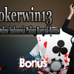 Pokerwin13 Game Poker Online Indonesia Paling Banyak Bonus